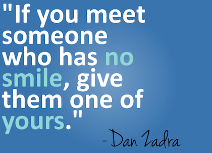 Give-someone-your-smile-new-beginning-picture-quote